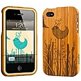 Grove iPhone 4 Etched Bamboo Case ($109)