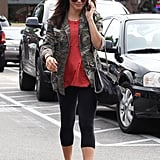 Jenna Dewan headed to the gym.