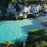 Float in Minorca's beaches in the Balearic Islands in Spain.