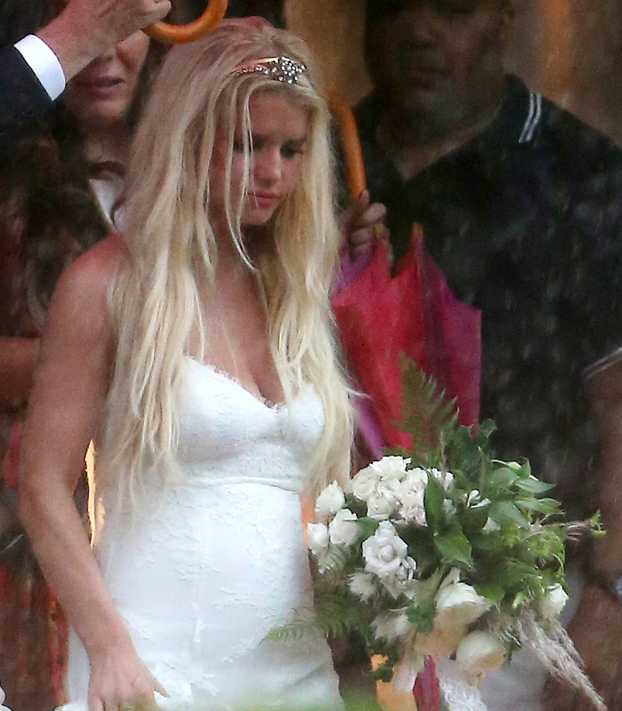 Jessica Simpson as a Bridesmaid For Her Friends | POPSUGAR Celebrity