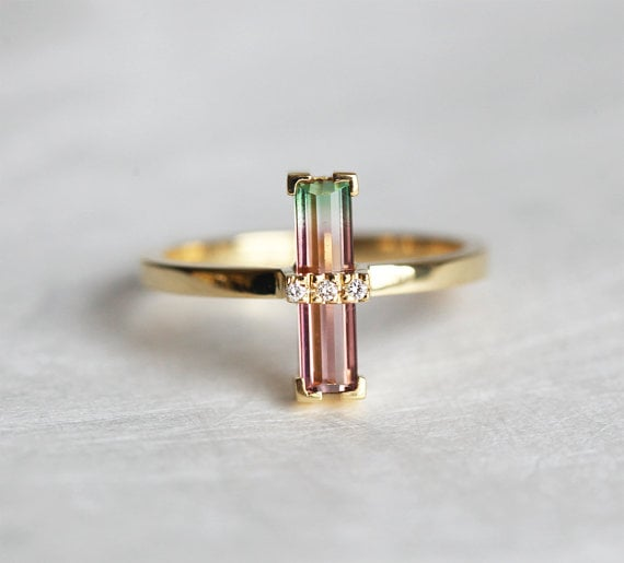 Pretty Engagement Rings From Etsy Popsugar Fashion