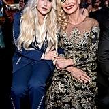 Kesha and Pebe Sebert