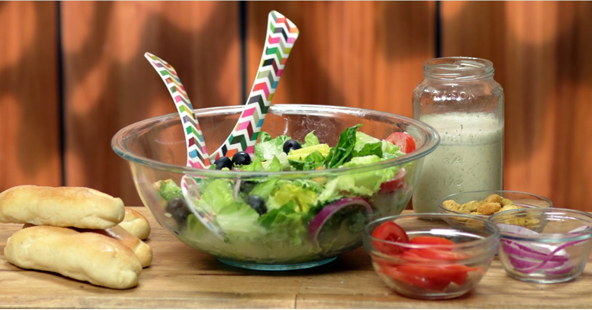 Olive garden breadsticks and salad recipes popsugar food for Olive garden salad dressing recipe secret