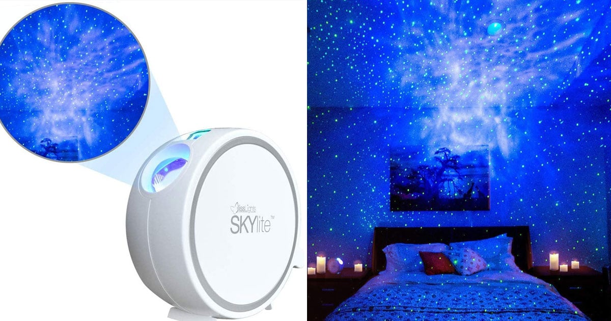 This Projector Brings the Night Sky Full of Stars Into Your Bedroom, and It's an Amazon Bestseller