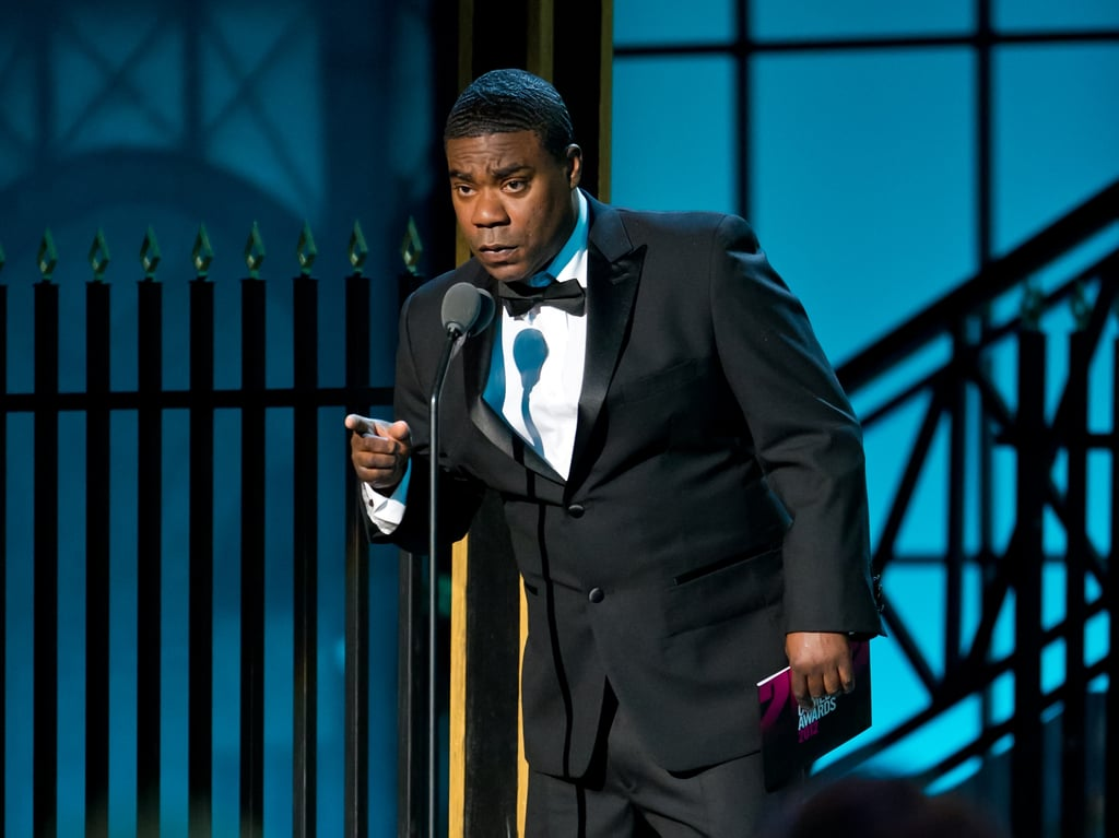 Tracy Morgan was on stage at the Comedy Awards in NYC.