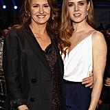 Melissa Leo and Amy Adams posed backstage at the Critic's Choice Awards.