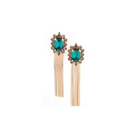 Earrings, $495, Mawi at Off The Runway
