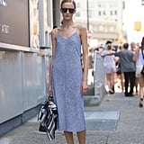 A Simple Slip Dress Does the Job
