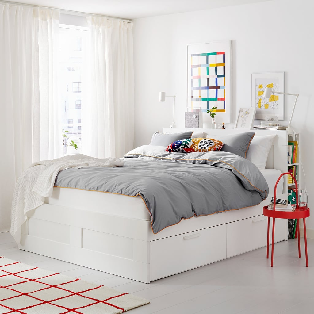 Brimnes Bed | Best Ikea Bedroom Furniture For Small Spaces ...