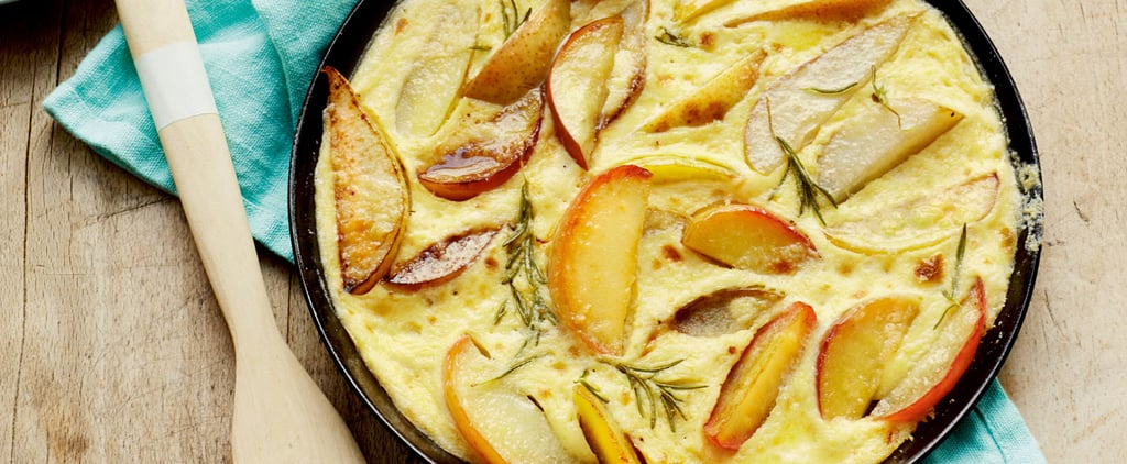 Dish to Impress: Apple, Pear and Rosemary Pancakes
