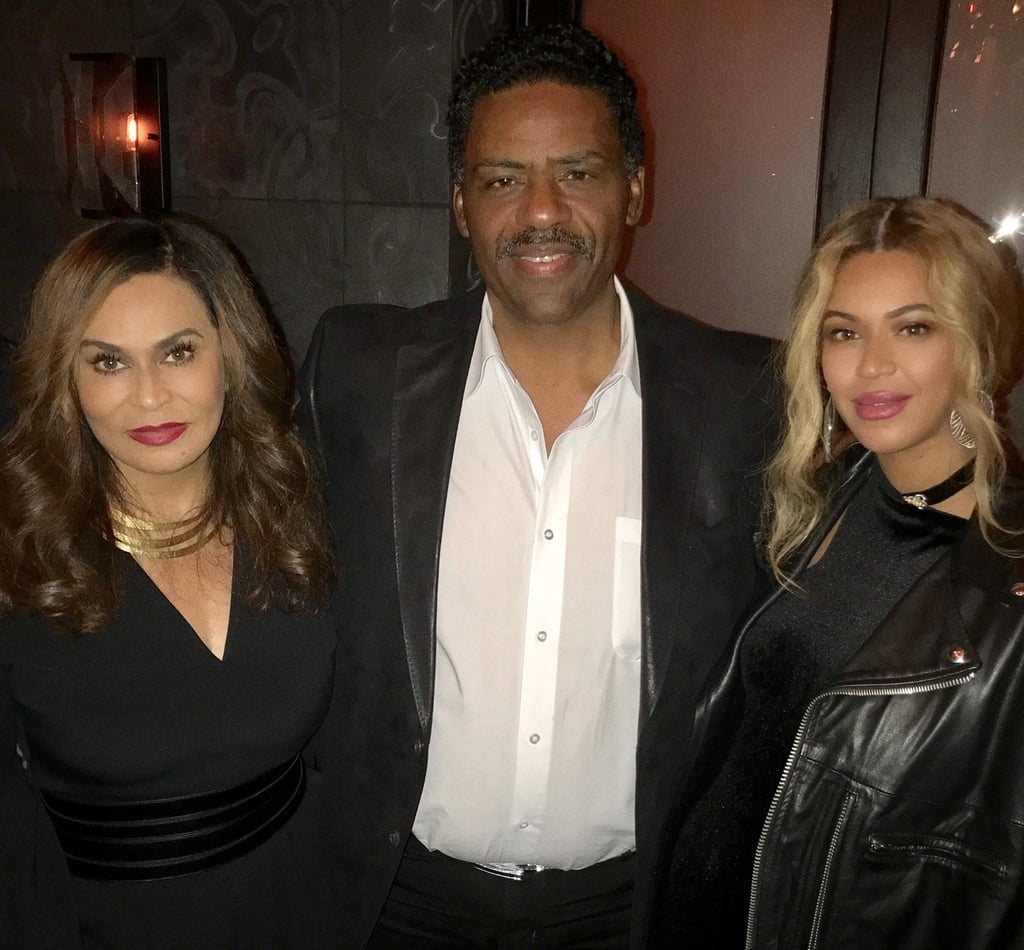 Beyoncé Steps Out in Style For Her Stepdad's 70th Birthday Bash