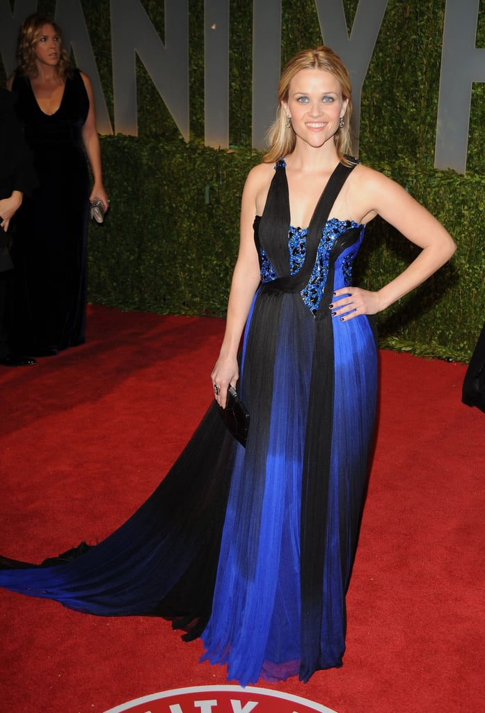 Reese Witherspoon in Rodarte at 2009 Oscars Vanity Fair Party