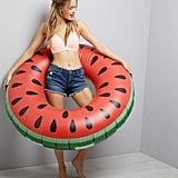 New Look Red Watermelon Ring Inflatable Pool Float (£20)