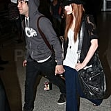 Ash and Pete at LAX