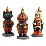 Vintage Halloween Tabletop Figures Set