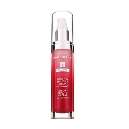 Nutrimetics UltraCare + Bright and Beautiful Serum, $59
