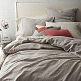 Warm Linen Duvet Cover ($150)