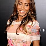 Jada Pinkett Smith's ombré locks looked darling twisted into beach waves.