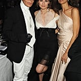 Karl and Diane even party together. Here they are looking stunning at amfAR's Cinema Against AIDS 2010 benefit gala dinner at the Hotel du Cap in France.