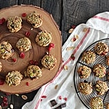 Pistachio-Crusted Chocolate Chip Cookies