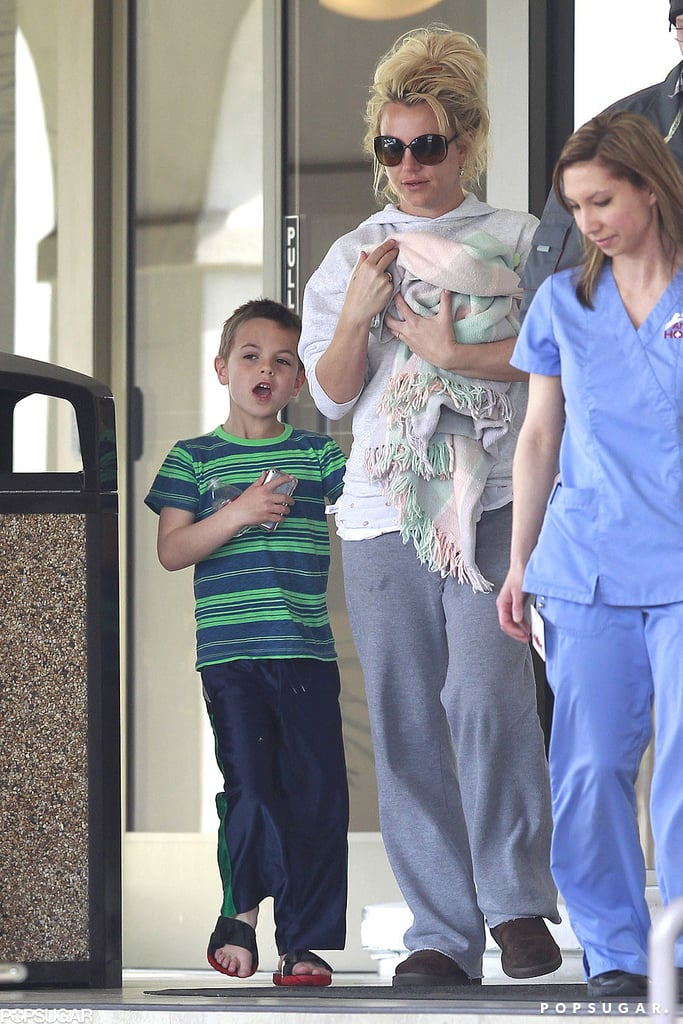 Britney Spears sported sweats on her trip to the vet.