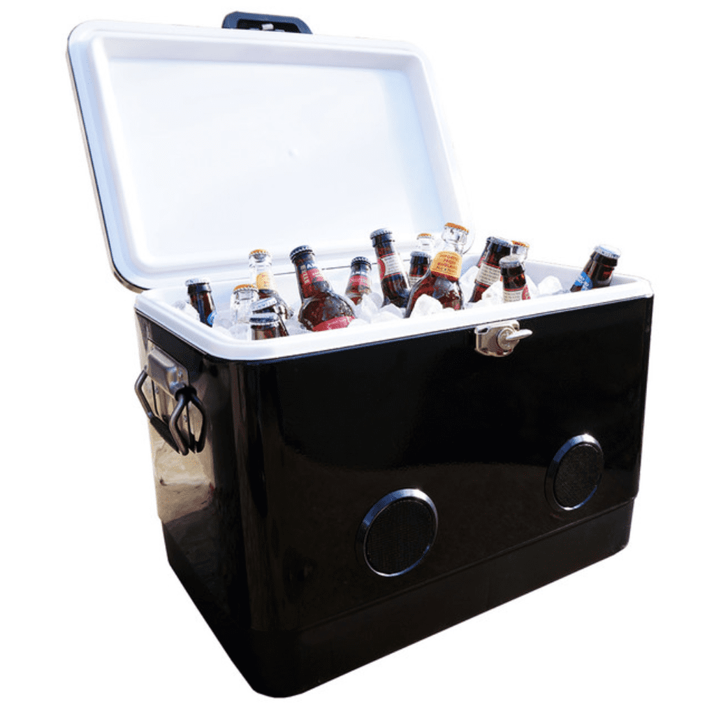 The BREKX 54QT Cooler with Bluetooth Speakers