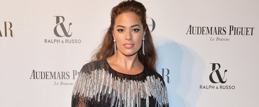 Ashley Graham Didn't Give Up Underwear to Wear This Sheer Dress — It Became the Focal Point