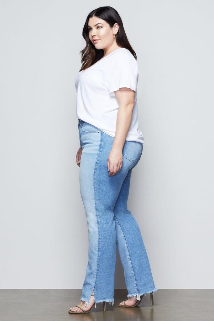 Shop Sarah's Exact Two-Tone Jeans
