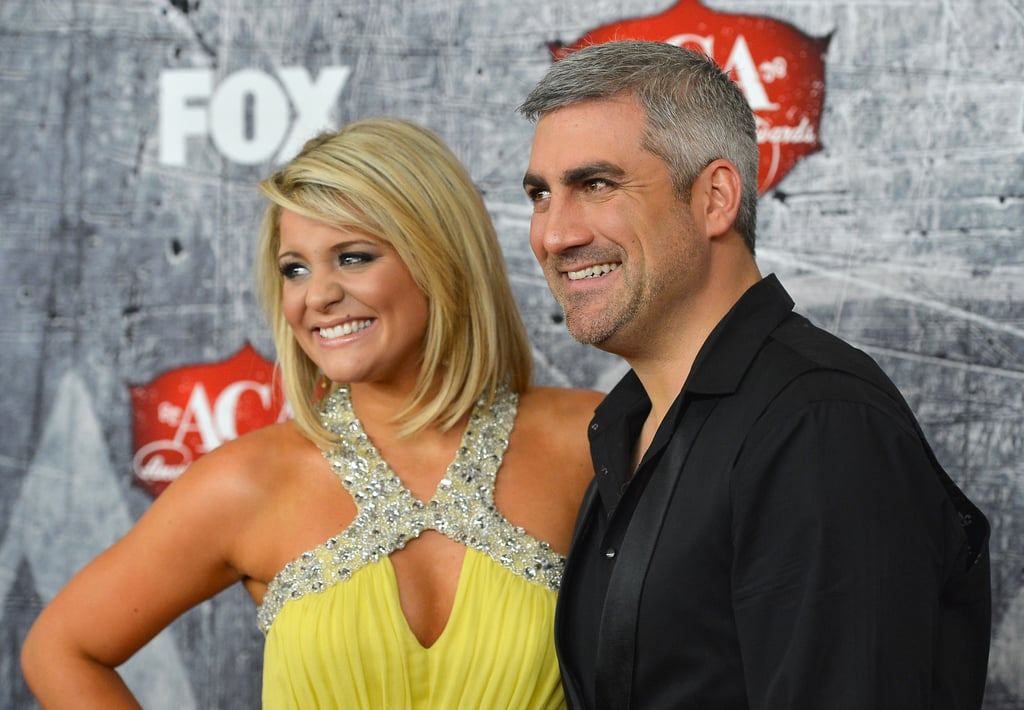 Lauren Alaina posed with Taylor Hicks.