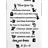 Disney quotes case ($25)