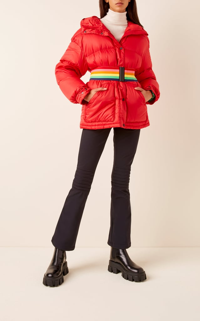 Perfect Moment Oversized Belted Quilted Shell Down Jacket