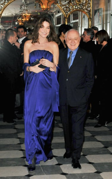 Fashion Dinner For AIDS In Paris