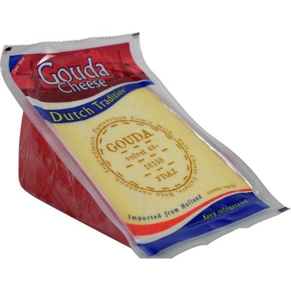 Dutch Tradition Imported Gouda ($13 per pound)
