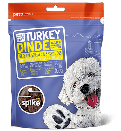 Your dogs are going to love these jerky treats from Petcurean. The treats contain no grain or gluten but a healthy dose of superfoods. The jerky also comes in venison, catfish, and duck flavors. Talk about a delicious snack for your pups!
