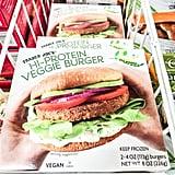 Hi-Protein Veggie Burger ($3)