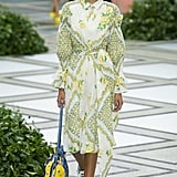 Puffy Sleeves on the Tory Burch Runway at New York Fashion Week
