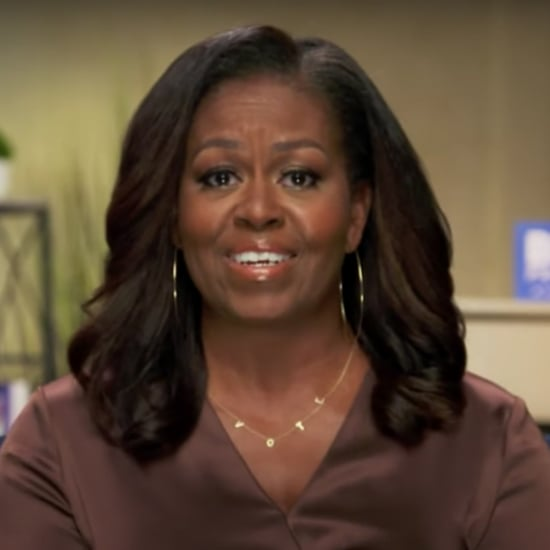 Michelle Obama's ByChari Vote Necklace During DNC Speech