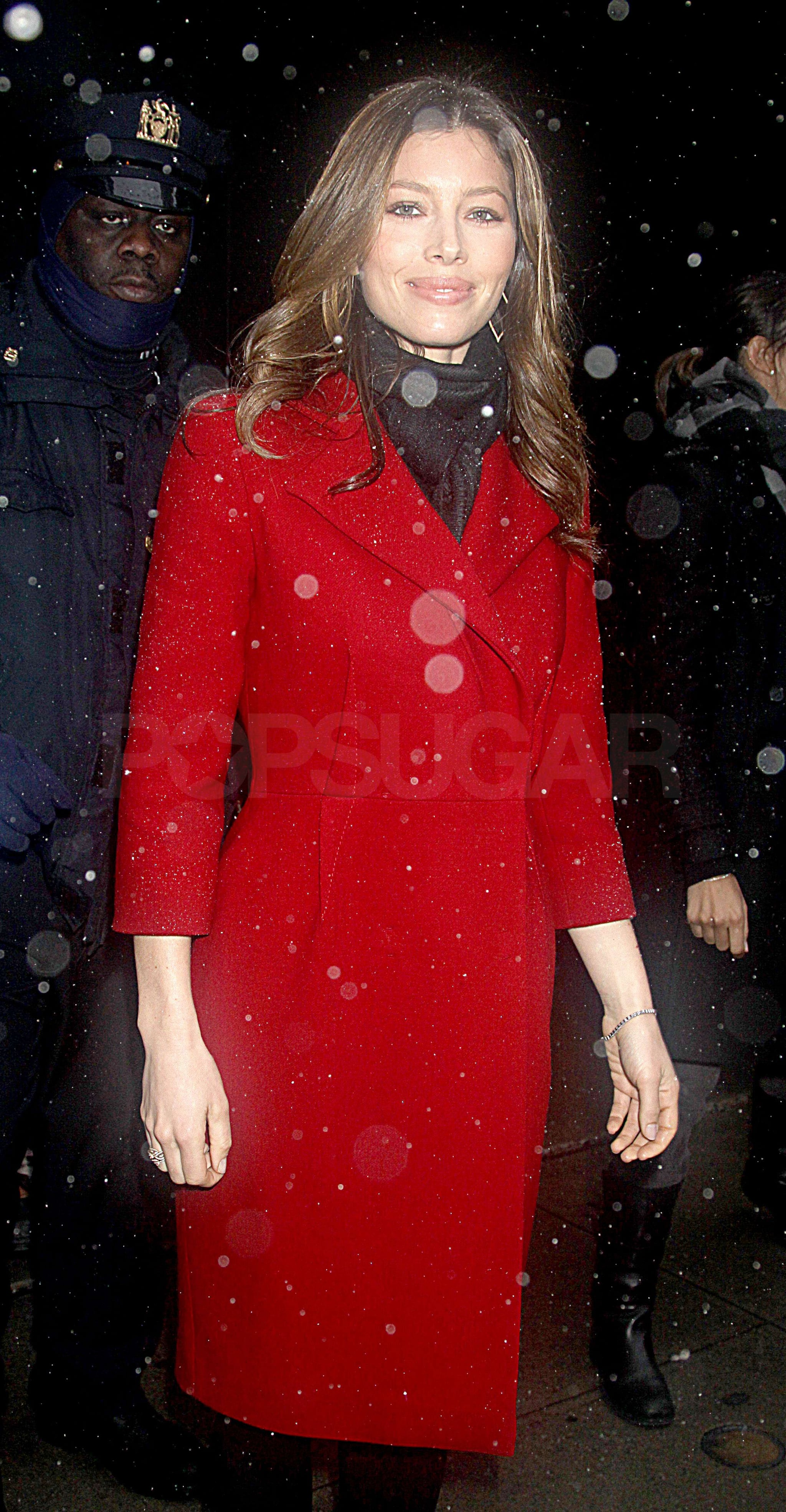 Photos Of Jennifer Garner And Jessica Biel Appearing On Gma To