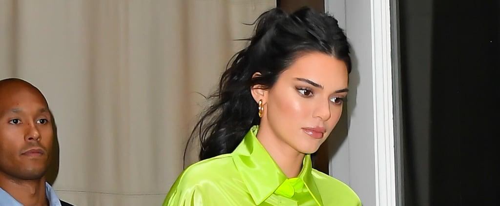 Kendall Jenner Neon Green Nail Polish