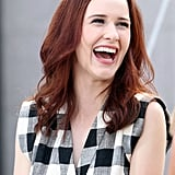 Rachel Brosnahan With Red Hair in 2014