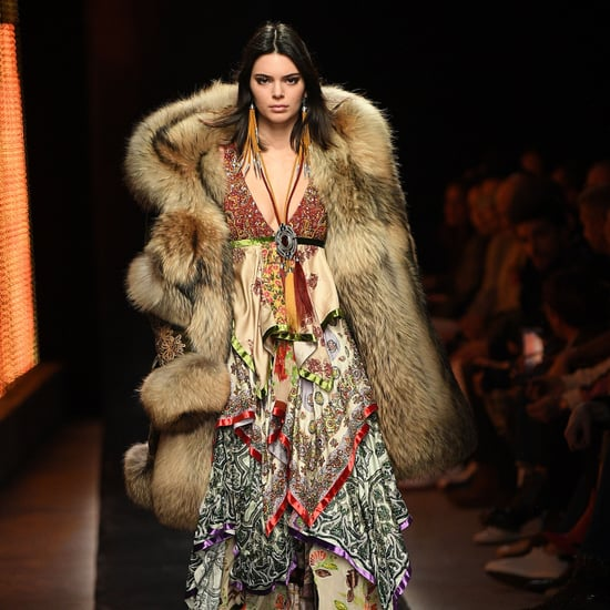 Kendall Jenner at Milan Men's Fashion Week