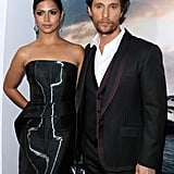 Matthew McConaughey and Camila Alves made a stunning couple at the Interstellar premiere in LA on Sunday.