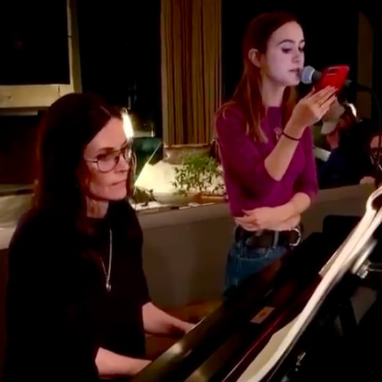 "Courteney Cox and Coco Arquette Cover Demi Lovato's ""Anyone"""