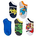 Pokémon Boys' Low Cut Sock