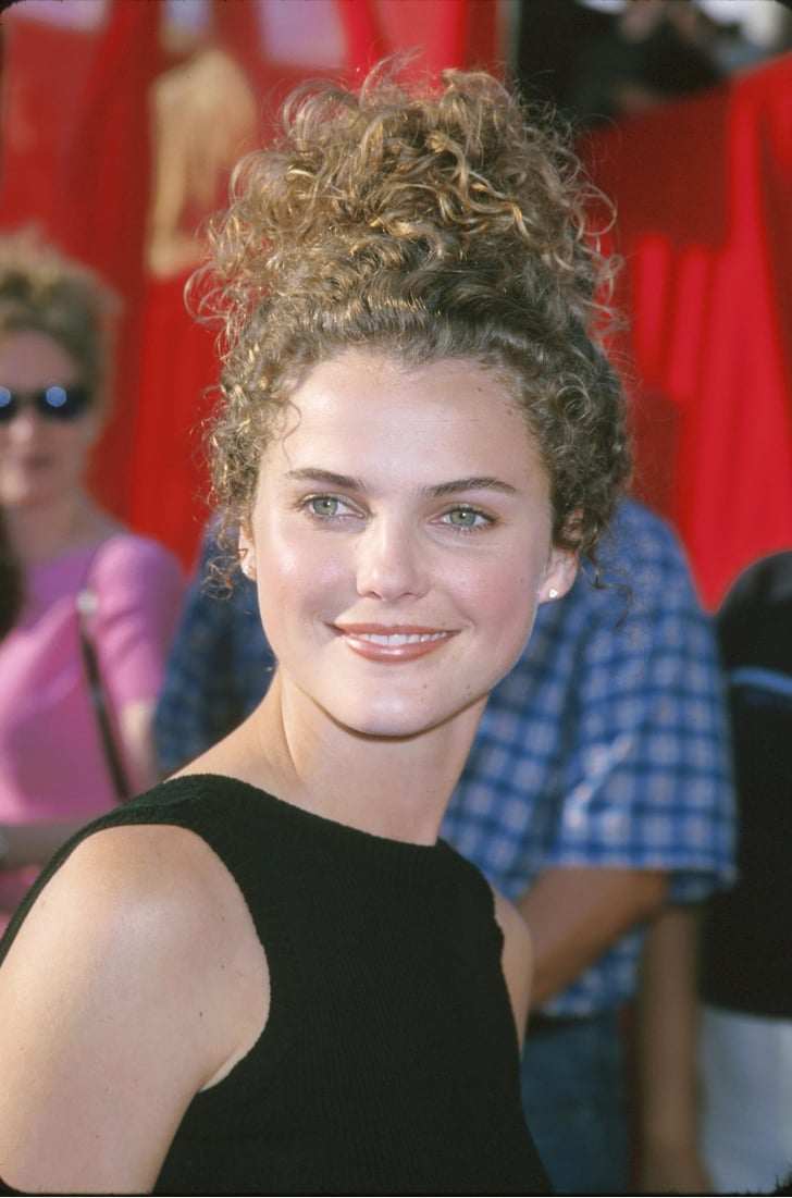 Keri Russell Had Curly Hair Mtv Movie Awards In The