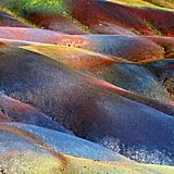 Seven Colored Earth of Chamarel, Mauritius