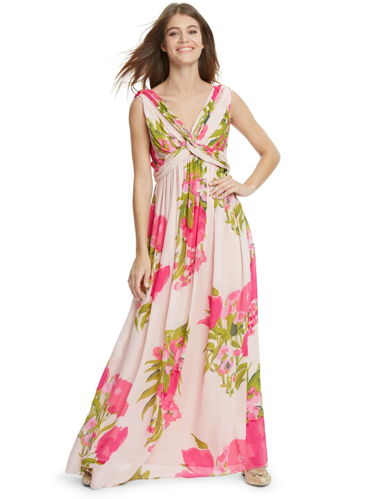 Boden Peony Floral Maxi Dress 169 High Street Bridesmaid