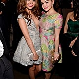 Sarah Hyland and Ariel Winter posed together at Fox's Golden Globes party.