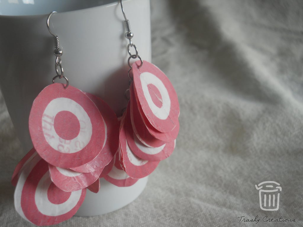 Plastic Bag Earrings