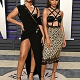 Chloe x Halle at the 2019 Vanity Fair Oscars Party